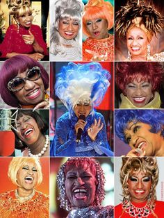 the many faces Celia Cruz Afro Cuban, Cuban Art, Spanish Music, Latin Music, New Jersey, Genre Musical, Musica Salsa, Latino Art, Salsa Music