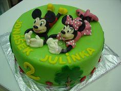 Dort s Mickey a Minie | Fotogalerie | Sladký MÉĎA - cukrárna trošku jinak Birthday Cake, Food, Birthday Cakes, Essen, Meals, Yemek, Cake Birthday, Eten