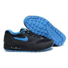 great fit 185a9 15f75 Sale Nike Air Max 1 Mens Anthracite Black University Blue Online Outlet