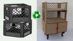 Jute Crafts, Paper Crafts, Sisal, Trash To Treasure, Diy Clothing, Space Saving, Diy Home Decor, Craft Ideas, Organization