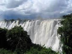 victoria waterfall in Africa