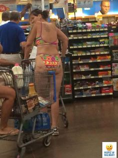 Why Do They Let These People In The Store Like This Only