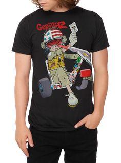 Gorillaz Chopper Kid T-Shirt