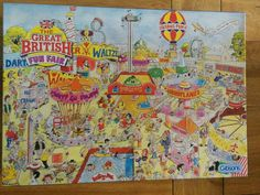 Gibsons Jigsaw Puzzle 1000 Piece The Great British Fun Fair by Dick Bogie FOR SALE • £4.00 • See Photos! Money Back Guarantee. Gibsons Jigsaw Puzzle 1000 Piece The Great British Fun Fair by Dick Bogie 100% complete 201701782324