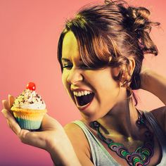 Cry me a cupcake Crying, Cupcake, Photos, Creative Photography, Cup Cakes, Cupcake Cakes, Cupcakes, Muffins, Teacup Cake