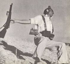 One of the most famous photos of the Spanish Civil War