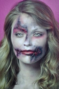 learn how to apply special effects makeup at California Advanced esthetics!    caadest.com