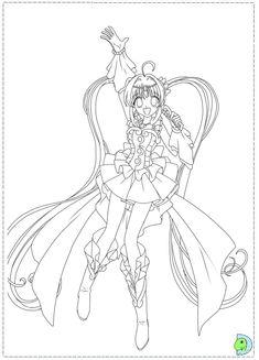 Mermaid Melody Coloring Pages Hanon Mermaid Melody Sirena Coloring