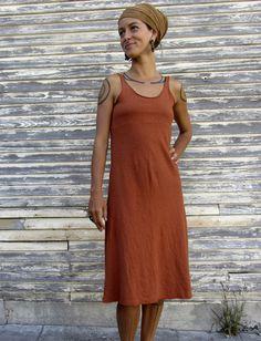Gaia Conceptions - Built in Bra Tank Simplicity Below Knee Dress, $155.00 (http://www.gaiaconceptions.com/built-in-bra-tank-simplicity-below-knee-dress/)