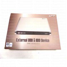 External ODD & HDD Device USB 3.0 interface Aluminum Blu-Ray Combo DVD-RW Writer Burner Optical Drive
