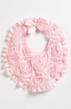 Aviana's newest gift: Mud Pie Chiffon Rosette Bib available at #Nordstrom