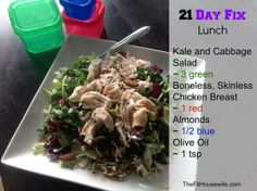 21 Day Fix lunch
