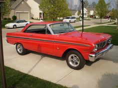 1965 FORD FALCON, mine was white, just gave it away, I should have kept it...