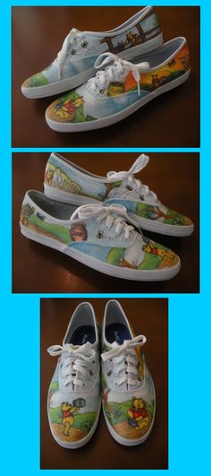 Winnie the Pooh Shoes by ~Some-Imagination on deviantART