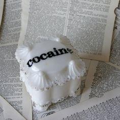 White Milk Glass Cocaine Sugar Dish from geekdetails on Etsy #sugardish