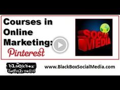 Courses in Online Marketing: Pinterest Courses in Online Marketing