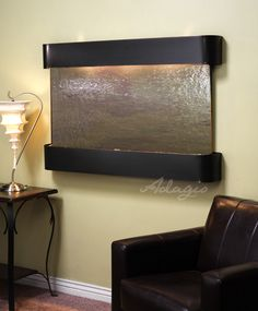 An interior waterfall feature is great for the home and defines peace and tranquility. Has anyone ever told you putting a decorative fountain inside your home will benefit the local air quality? Its true.www.waterfeaturesupply.com/waterwalls/indoor-wall-water-fountains.html