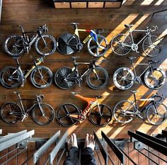 Nice wall for a cycling office