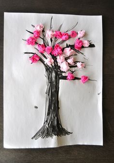 Cherry Blossom Spring Craft | Flickr: Intercambio de fotos