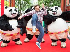 Star Tracks: Monday, June 29, 2015 | PUNCH LINE  | Jack Black is more than ready to put up a fight at a London photo call for Kung Fu Panda 3 on Thursday.