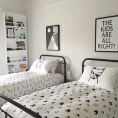 Monochrome boys room. Designed & Styled by Kids Suite @kidsuite