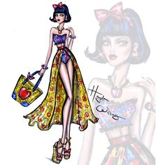 #DisneyDivas 'Beach Beauties' by Hayden Williams: Snow White