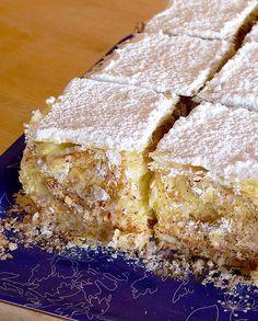 Sweet Recipes, Cake Recipes, Dessert Recipes, Italian Pastries, Beautiful Desserts, Pinterest Recipes, Dessert Bars, Italian Recipes, Food And Drink