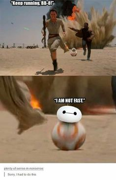 BB-8 and Baymax??? It's nerd adorability!!!