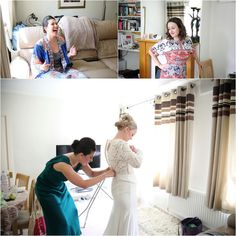 wedding-photography-eltham-palace-london_ Natural authentic getting ready photographs at london wedding
