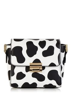 Skinnydip Cow Print Camera Bag