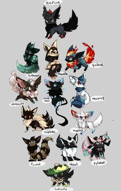 I love this zorua is my fave