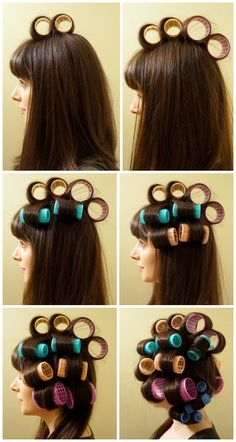 A Little Bit of This, That, and Everything: How To Roll Your Hair With Rollers