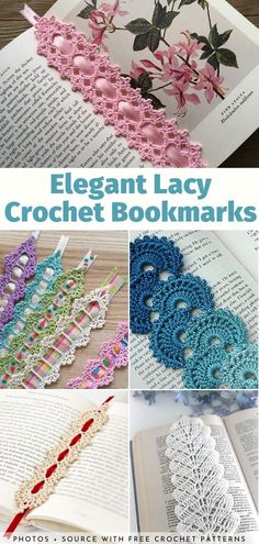 It is always so hard to come up with ideas for gifts for birthdays, holidays and other occasions, right? Guess what! It gets a lot easier when you are a skilled crocheter and your loved ones are passionate book-lovers. Cordon Crochet, Marque-pages Au Crochet, Crochet Cord, Crochet Motifs, Crochet Books, Crochet Gifts, Free Crochet, Crochet Coaster, Crotchet