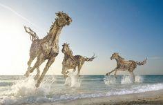 Amazing driftwood sculptures from James Doran Webb at http://jamesdoranwebb.com/