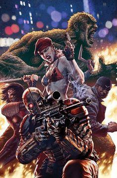 Suicide Squad Back Up Strip, Captain Boomerang: Agent Of Oz, With Ivan Reis Jim Lee, Harley Quinn, Joker And Harley, Gotham, Arte Dc Comics, Marvel Comics, Buy Comics, Marvel Villains, Comic Book Covers
