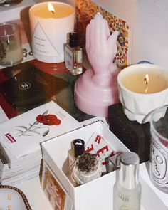 """JOYA on Instagram: """"More  for our @theacademynewyork, @sunset_tower and Prism Bone candles ✨ . . : @theglossarray"""""""