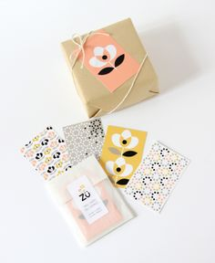 zü: mini cartes décoratives