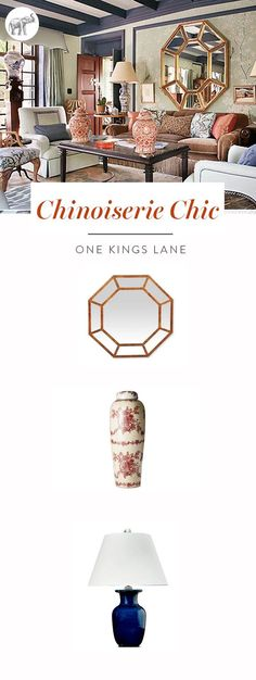 There's a reason chinoiserie designs have never gone out of fashion.