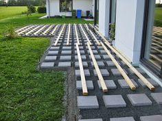 Marios Werkstatt: Hausprojekt: Terrasse - Teil 2