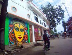 Graffiti Scene in Chennai Artist : Yantra Where? Chennai
