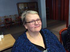 Jaana Issakainen tekee töitä ravitsemistyöntekijänä Palvelukeskus Mäntylässä Rantasalmella.