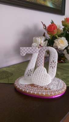 3d Shapes, Decorative Bells, Houses, Cookies, Crack Crackers, Lace, Flower, Homes, Biscuits
