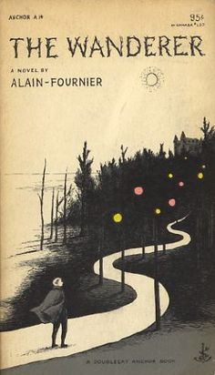 Edward Gorey's book cover / The Wanderer (1953)