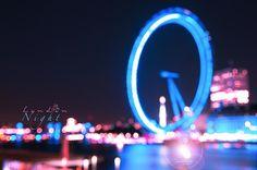 At London Night #ElizabethPadillaPhotography London Eye  London