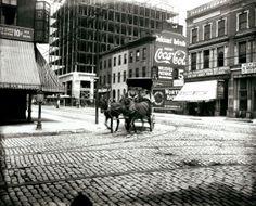 Intersection of Fourteenth Street and Washington Avenue. (1913) Missouri History Museum