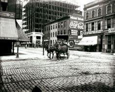 Intersection of Fourteenth Street and Washington Avenue. (1913)