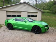 2011 Chevrolet Camaro LS Synergy Green Rare Click to find out more - http://newmusclecars.org/2011-chevrolet-camaro-ls-synergy-green-rare/