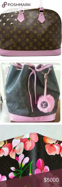 CUSTOM PAINTING, DESIGN, MONOGRAM&DETAIL SERVICES! That's right ladies, I do it all!! 😃😃❤ Please feel free to reach out to me with your vision and we will try to make it happen! Prices vary per bag and design. My prices are very affordable! Custom orders usually take approximately 3-4 weeks. I do not rush my work on your beautiful bags! Each bag is very well loved & handled with care in my home! ☺💕💕 Please leave your email or contact info in the comments below to discuss your beloved…