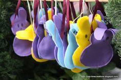 peep bags - too cute!