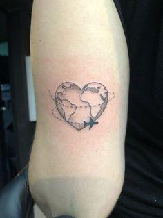 For those who love to travel - Famous Last Words Mini Tattoos, New Tattoos, Small Tattoos, Tatoos, Elegant Tattoos, Beautiful Tattoos, Globus Tattoos, Airplane Tattoos, Inspiration Tattoos